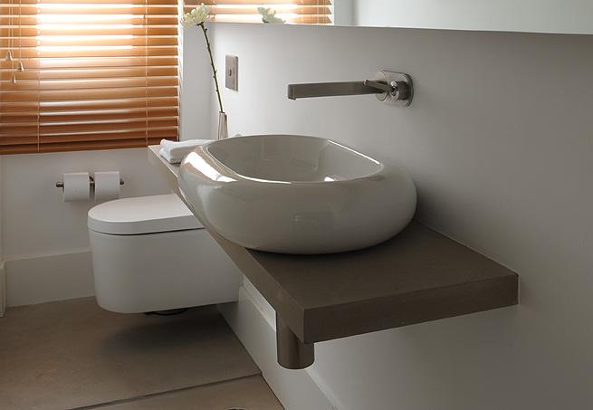 9 Modelos de Banheiros modernos e baratos -> Cuba Para Banheiro Thema