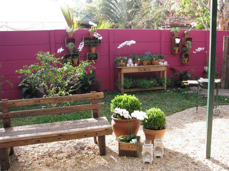 Como fazer um Jardim - Ideias Criativas