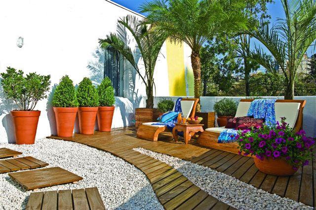 Como fazer um jardim pequeno e barato for Tipos de jardines pequenos