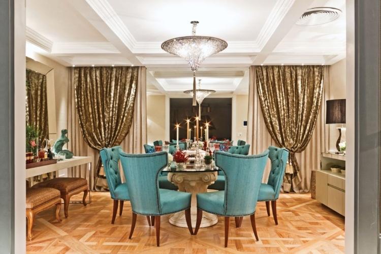 Sala De Jantar Decorada Com Fotos ~ 21 Modelos de Salas de jantar decoradas