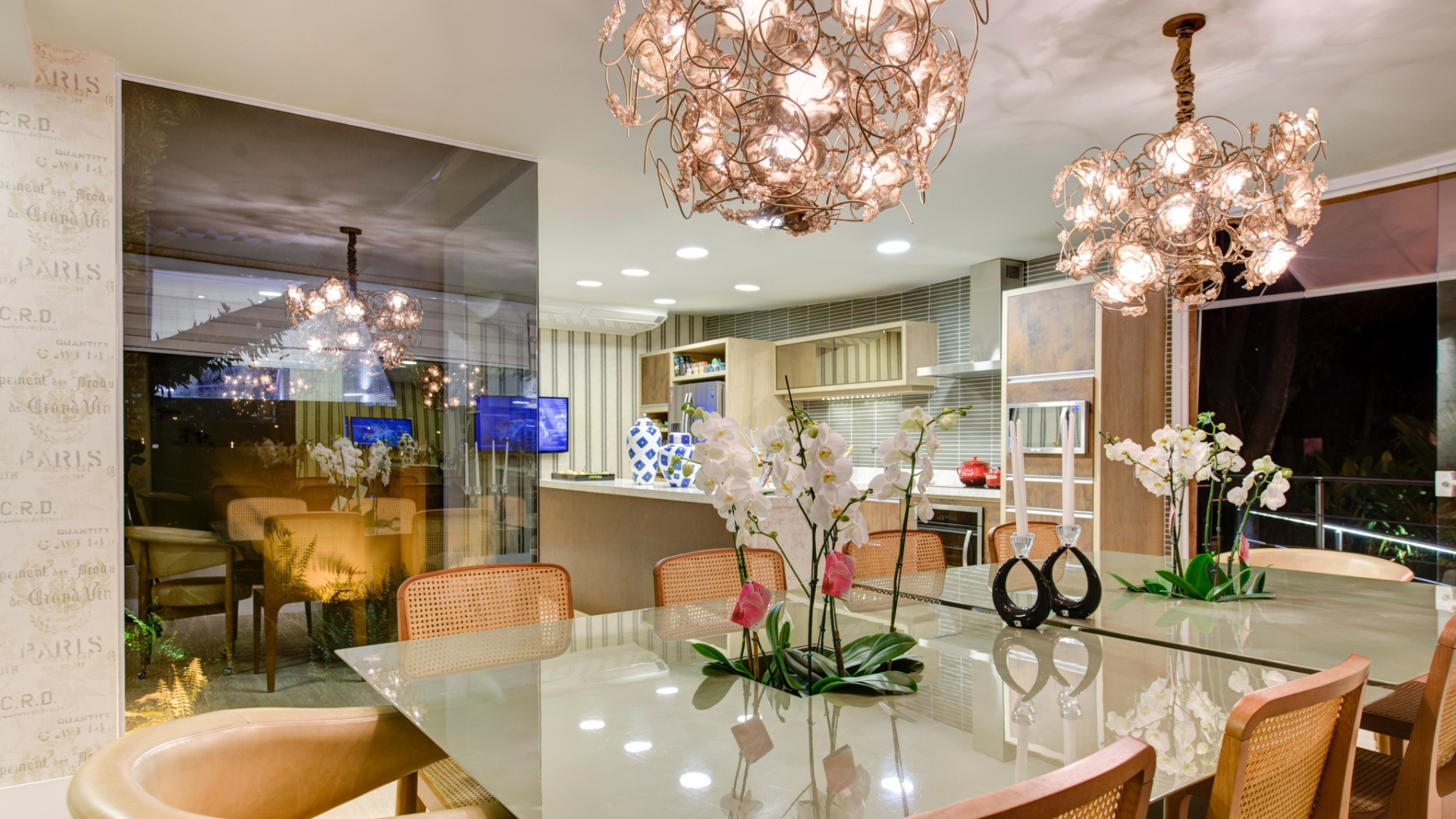 A Mesa Ideal Lar Doce Casa -> Sala De Jantar Pequena Com Mesa De Marmore