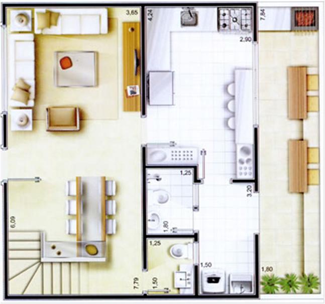modelos-de-plantas-de-casas-simples