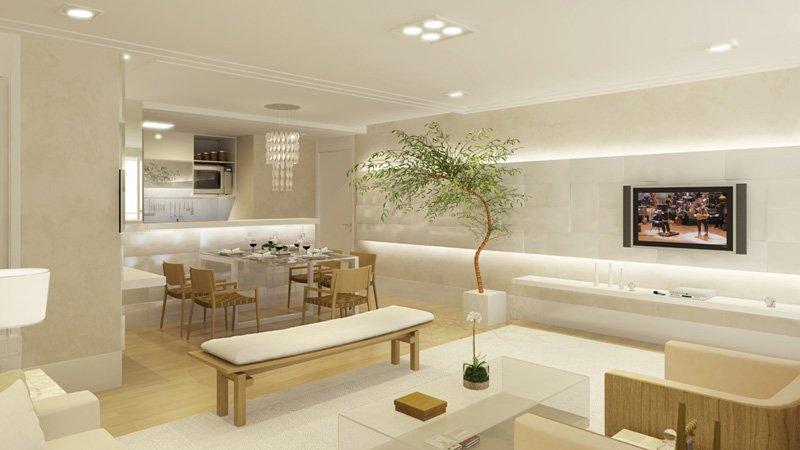 Sala De Jantar Pequena Branca ~ 21 Modelos de Salas de jantar decoradas