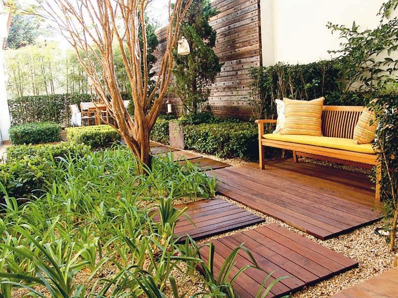 Sugestões para Decoração de jardim externo