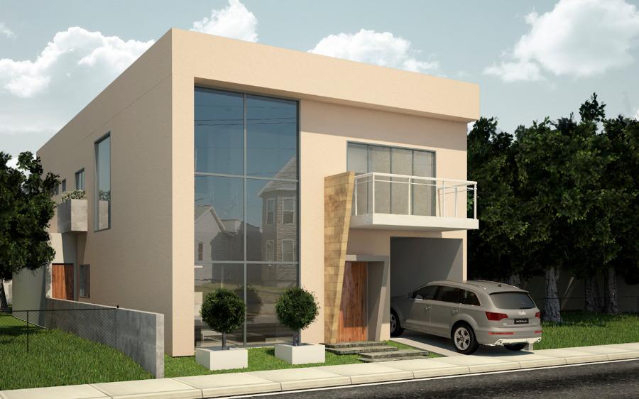 16 modelos de fachadas de casas pequenas e modernas for Modelos de fachadas modernas