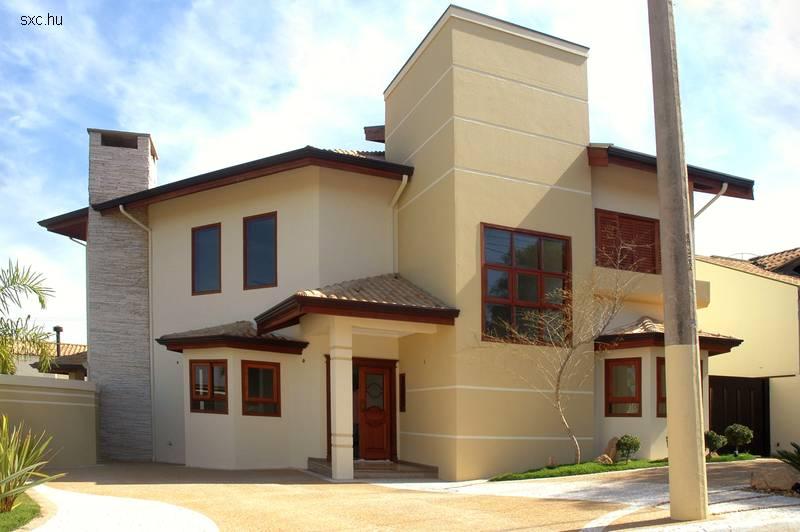 18 fotos de exteriores de casas modernas for Modelos de casas fachadas fotos