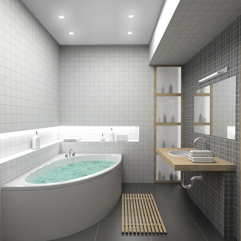 Modelos de banheiras para banheiros pequenos for Small bathroom design tricks