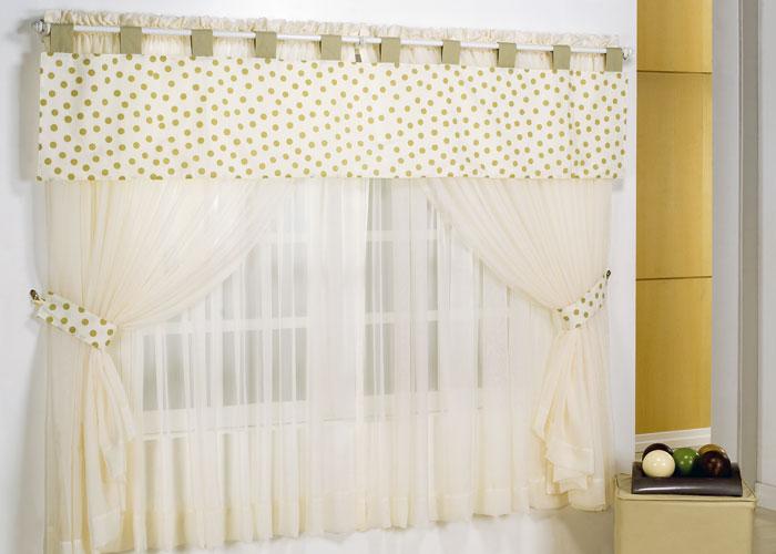 Cortinas para quartos 16 lindos modelos - Modelos de cenefas para cortinas ...