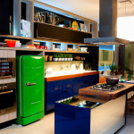 12 Fotos de Cozinhas coloridas e criativas
