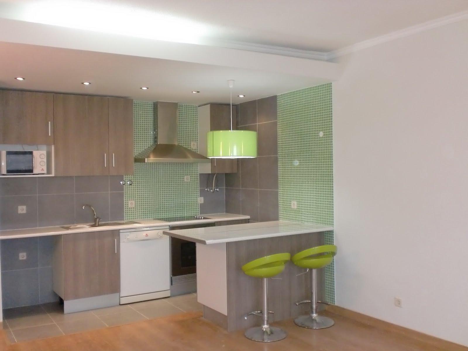 Decora o de cozinhas de apartamentos fotos for Apartamentos