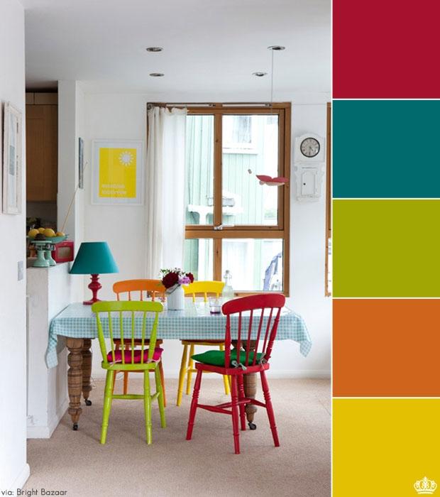 decoracao-colorida-para-cozinha-simples