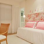 Decoração de quartos com papel de parede