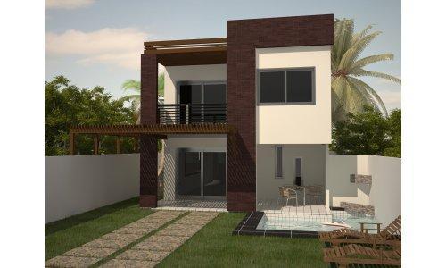 16 modelos de fachadas de casas pequenas e modernas - Fotos de casas preciosas ...