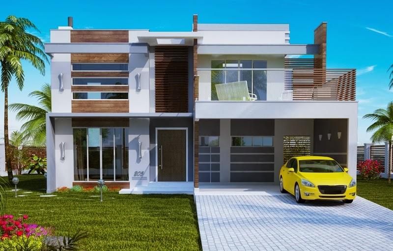 fachada-de-sobrado-moderno-com-varanda