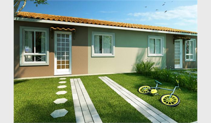16 modelos de fachadas de casas pequenas e modernas for Modelos jardines para casas pequenas