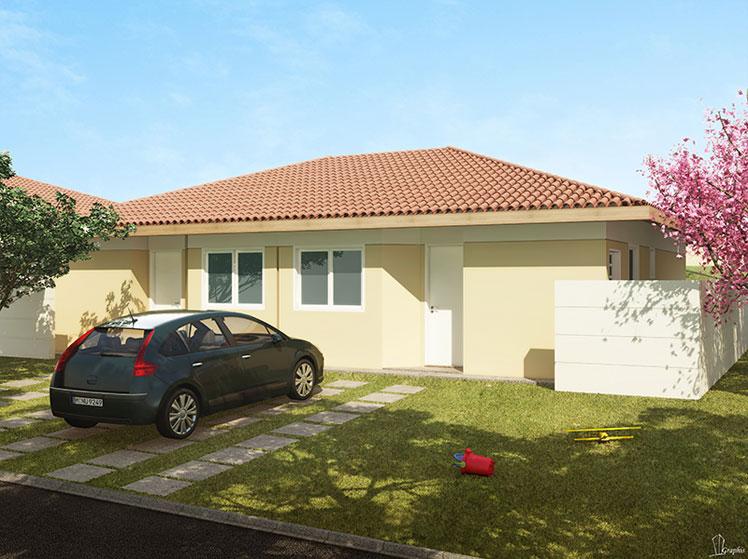 16 modelos de fachadas de casas pequenas e modernas for Casas modernas simples
