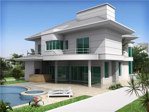 11 modelos de fachadas de sobrados modernos for Modelos de fachadas modernas para casas