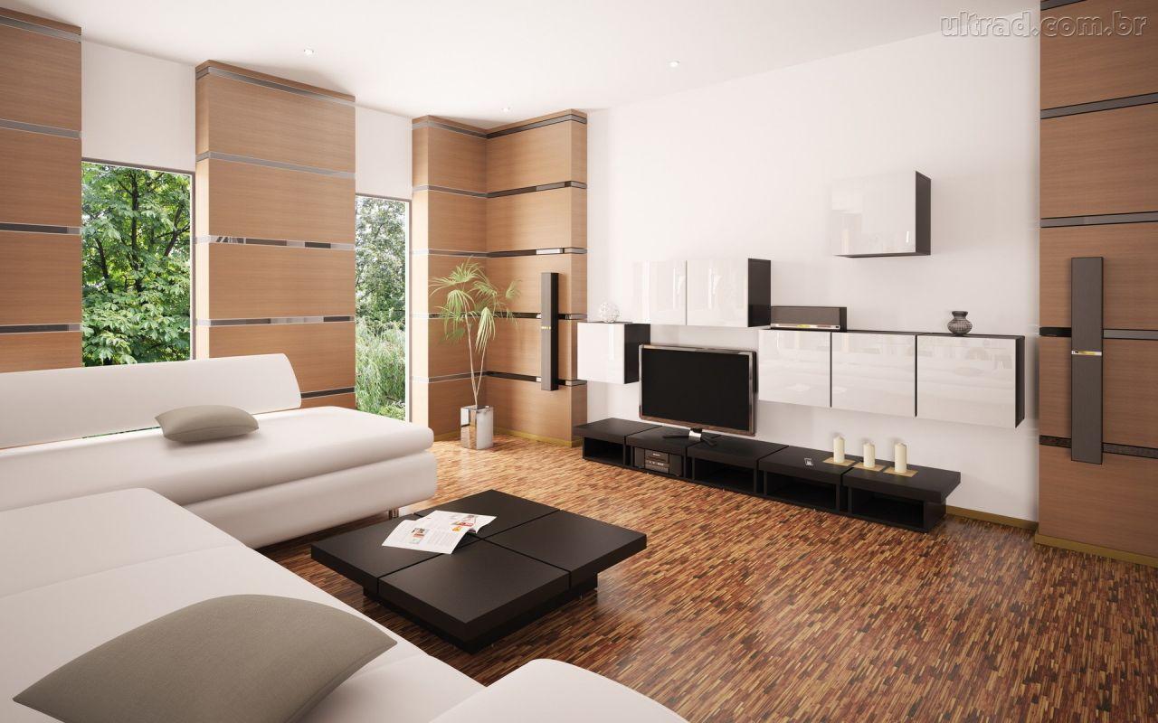 Ornamentacao Sala De Estar ~ Decoração de Salas de estar modernas – Fotos