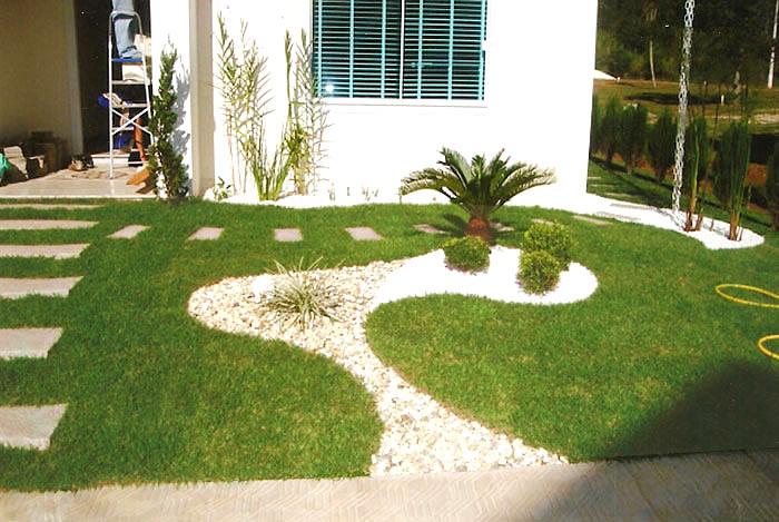 imagens jardins casas : imagens jardins casas:Decoracao De Jardins Pequenos