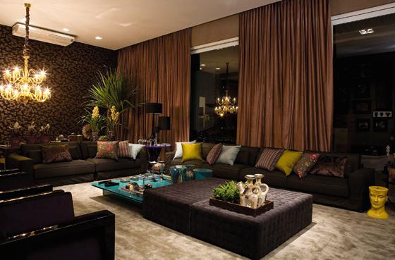 Salas De Estar Chiques E Modernas ~ Decoração de Salas de estar modernas