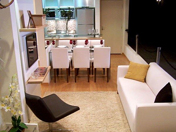 7 modelos de decora o de salas conjugadas for Modelos de sala de casa