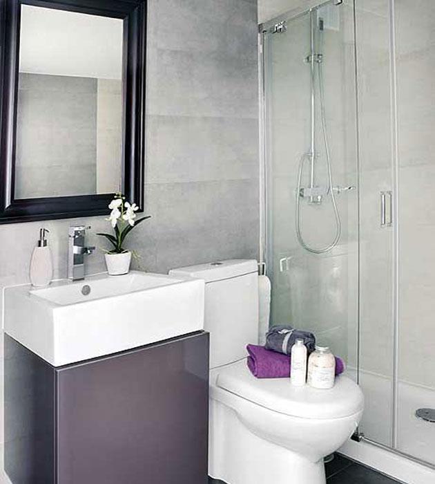 Banheiros Pequenos planejados Sugestões, modelos -> Banheiro Planejado Para Apartamento Pequeno