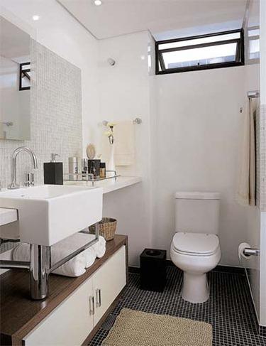 banheiros pequenos planejados sugest es modelos. Black Bedroom Furniture Sets. Home Design Ideas