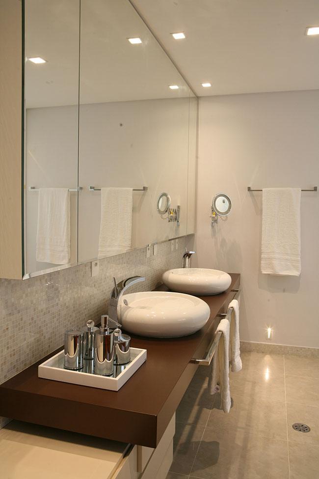 19 Modelos para Decoração de Banheiro social -> Acessorios Para Decoracao De Banheiro