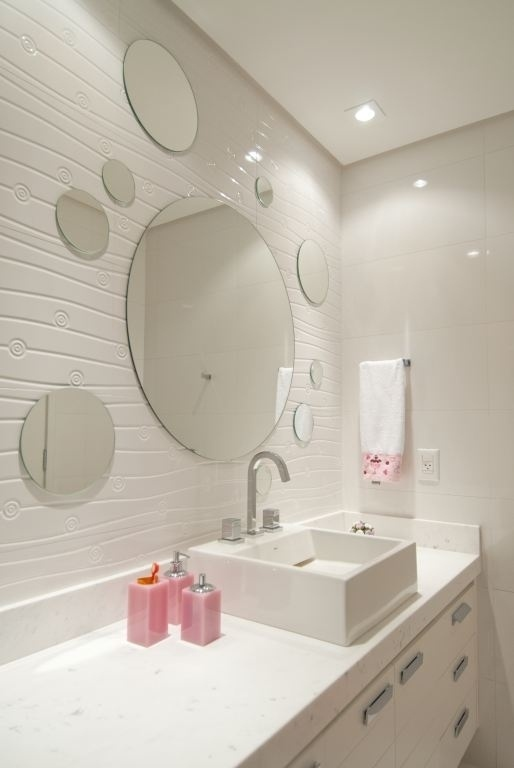decoracao lavabo branco:19 Modelos para Decoração de Banheiro social