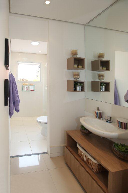 19 Modelos para Decoração de Banheiro social -> Banheiros Sociais Modernos