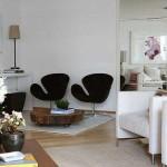Decoração aconchegante para salas de estar