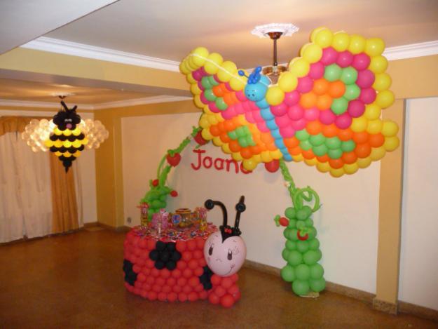 decoracao festa simples:decoracao-com-baloes-para-festa-simples