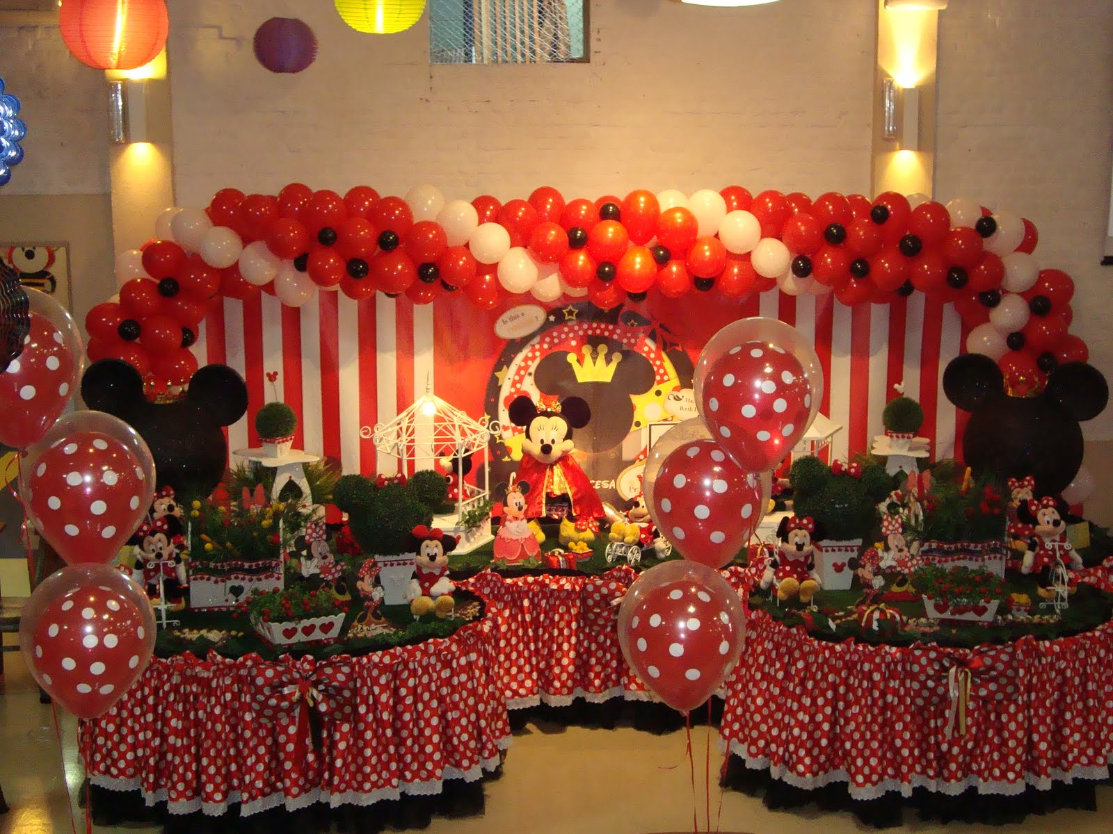 decoracao-infantil-tema-minnie