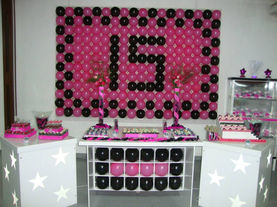 decoracao-para-aniversario-de-15-anos-simples