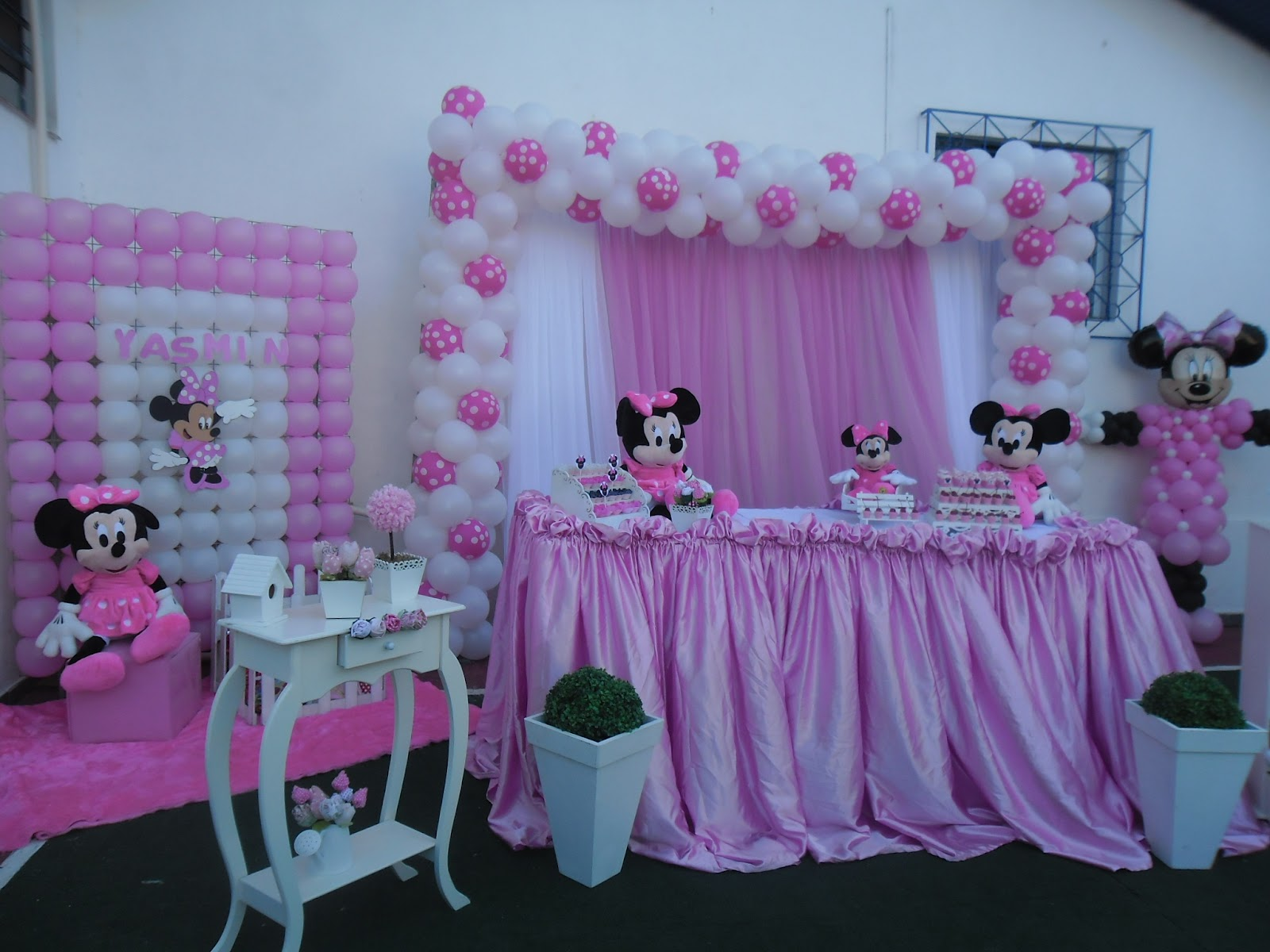 decorar-aniversario-infantil-tema-minnie
