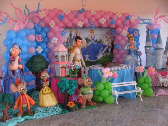 festa-tema-cinderela-como-decorar
