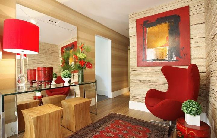 Decora o de ambientes internos com plantas for Casa moderna 4 ambientes