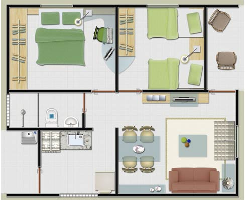 modelos-para-plantas-de-casas-pequenas