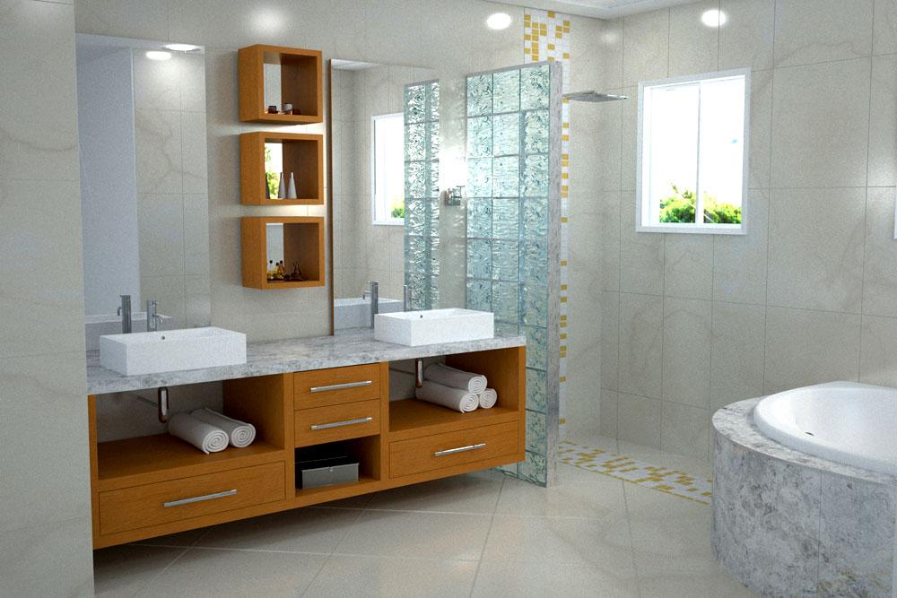 Banheiros Pequenos planejados Sugestões, modelos -> Banheiro Pequeno Metragem