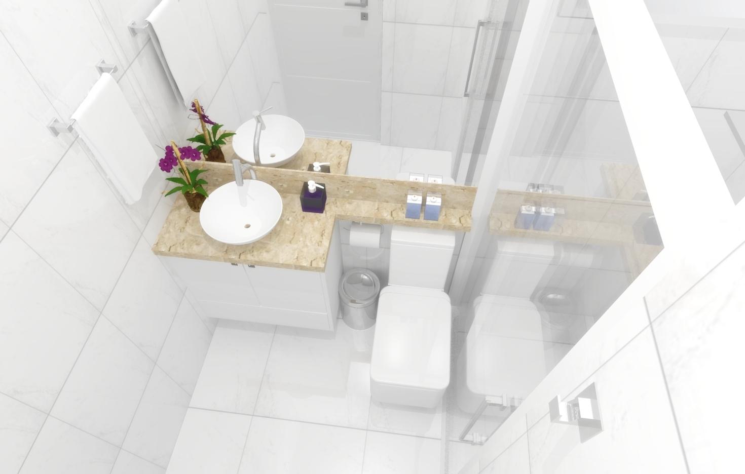 Banheiros Pequenos planejados: Sugestões modelos #41621F 1470x936 Banheiro De Apartamento Pequeno Planejado