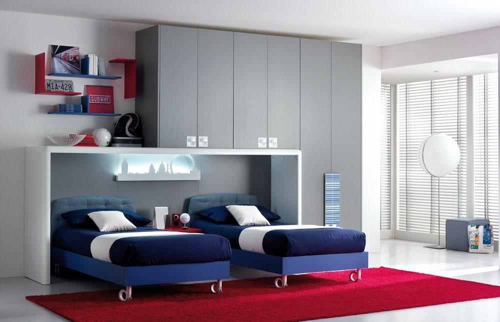 Ideias interessantes para decora o de quartos juvenis for Mobili per stanzetta