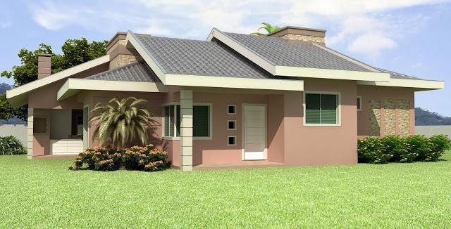 7 fotos de exteriores de casas simples for Casas modernas simples