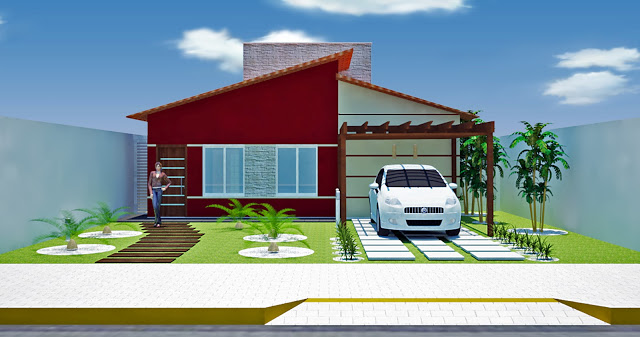 7 fotos de exteriores de casas simples - Casas exteriores ...