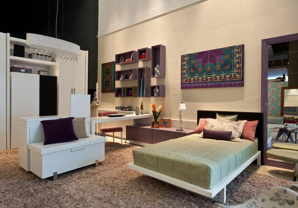 Decora o de quartos para jovens for Habitaciones juveniles con cama grande