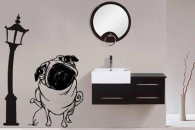 Adesivos na decoração de banheiros