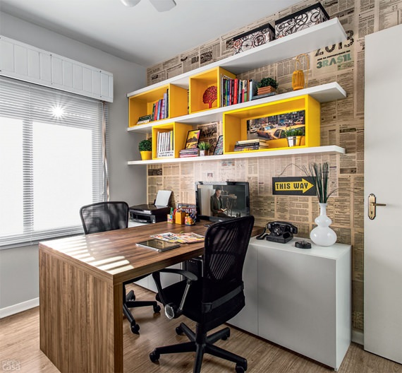 como decorar um home office