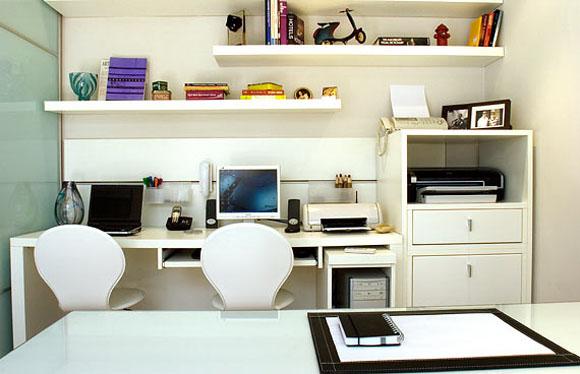 Decora o de home office 21 modelos de escrit rios em - Escritorios para casas ...