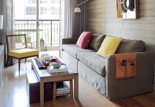 Decora o de salas pequenas e simples for Salas en l pequenas