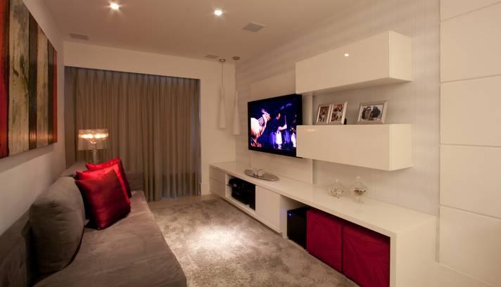 Sala Pequena Com Decoracao Simples ~ Decoração de Salas pequenas e simples