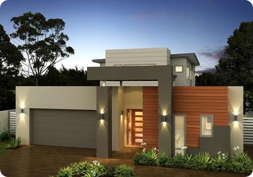 Fachadas de casas pequenas e simples 11 modelos for Disenos de fachadas de casas pequenas modernas
